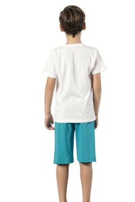 Özkan Underwear - Özkan 31444 Erkek Çocuk Kapri Takım (1)