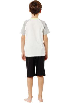 Özkan Underwear - Özkan 31531 Erkek Çocuk Kapri Takım (1)