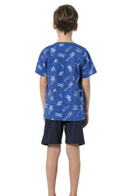 Özkan Underwear - Özkan 31555 Erkek Çocuk Şortlu Takım (1)