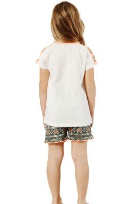 Özkan Underwear - Özkan 42368 Kız Çocuk Şortlu Takım (1)