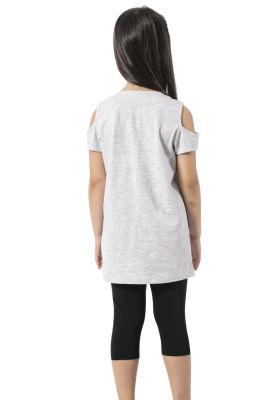 Özkan Underwear - Özkan 42451 Kız Çocuk Taytlı Takım (1)